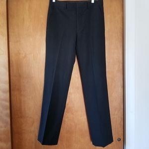 3/$25 J. Ferrar slim fit black slacks 30 x 32